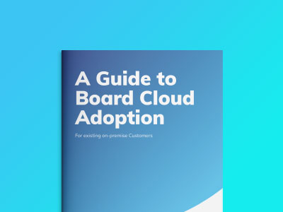 A Guide to Board Cloud Adoption