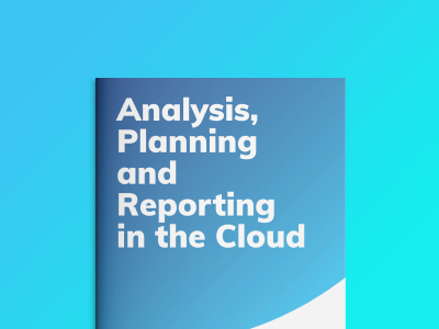 Analysis, Planning and Reporting in the Cloud
