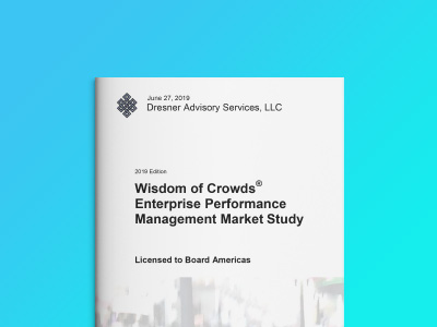 Dresner Advisory - Enterprise Performance Management Market Study 2019
