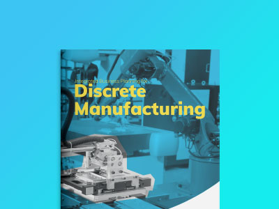 Integrated Business Planning for Discrete Manufacturing