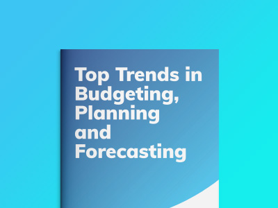 Top Trend in Budgeting, Planning e Forecasting