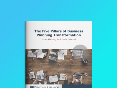 Ventana Research - The Five Pillars of Business Planning Transformation