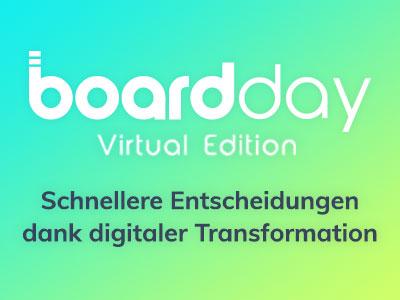 Board Day 2020 PODIUMSDISKUSSION: Digitalisierung der Entscheidungsfindung in Unternehmen – Revolution oder Evolution?