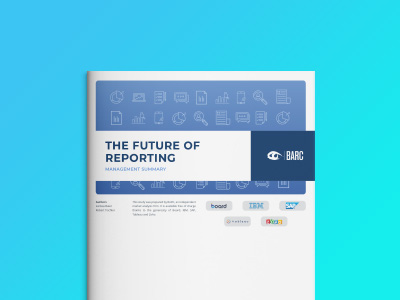 The Future of Reporting – BARC Studie 2019
