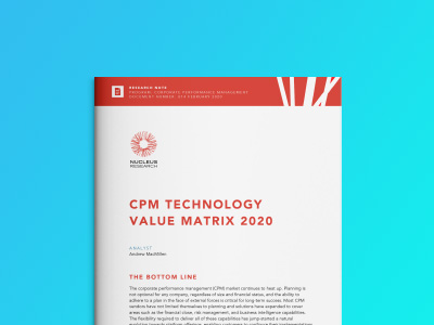 Nucleus Research: CPM Value Matrix 2020