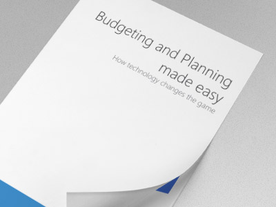 Budgeting and Planning made easy