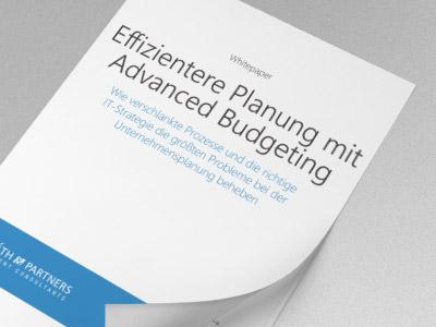 Effizientere Planung mit Advanced Budgeting