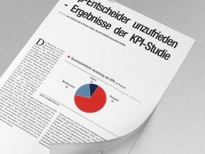 Top-Entscheider unzufrieden - Ergebnisse der KPI-Studie