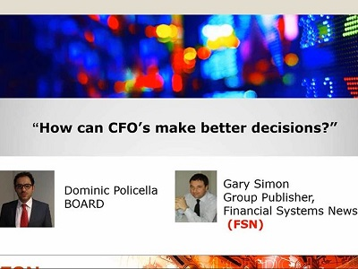 How can CFO's make better decisions?