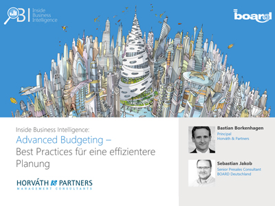 Advanced Budgeting – Best Practices für eine effizientere Planung