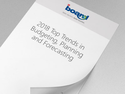 2018 Top Trends in Budgeting, Planning and Forecasting