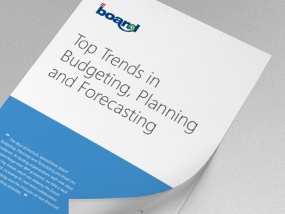 Top Trends in Budgeting, Planning and Forecasting