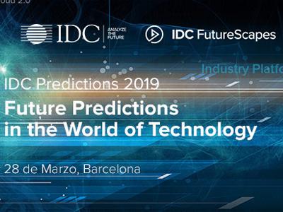 IDC Predictions Barcelona 2019
