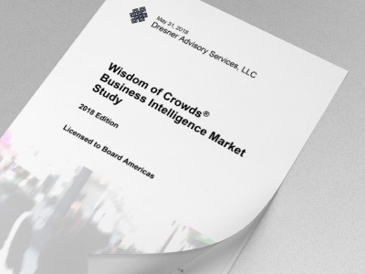 Dresner Advisory - BI Market Study 2018