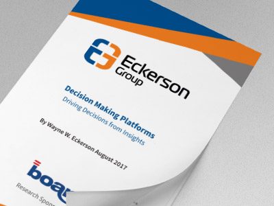 Eckerson Group - Decision Making Platforms