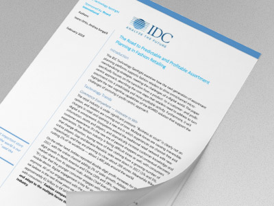 IDC - Technology Spotlight - Assortment Planning in Fashion Retailing