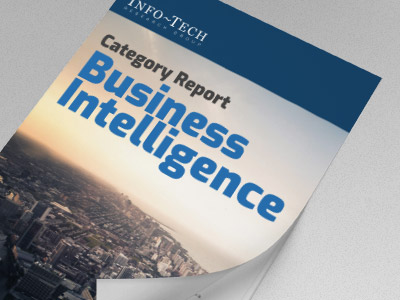 Info-Tech: Business Intelligence Category Report 2018
