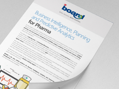 Analyze, Plan and Simulate in the Pharmaceutical Industry