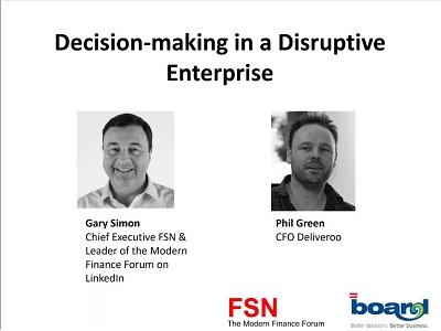Decision-making in a disruptive enterprise (FSN & Deliveroo)