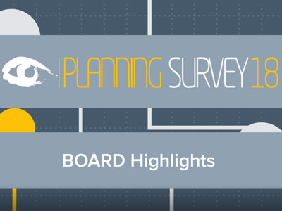 Board im BARC The Planning Survey 18