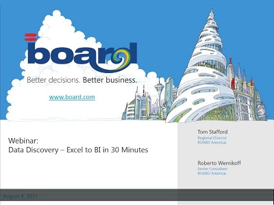 BOARD Data Discovery: Excel to BI in 30 Minutes
