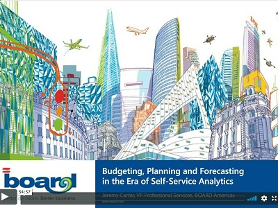 Budgeting, Planning and Forecasting in the era of self-service analytics and cognitive technologies