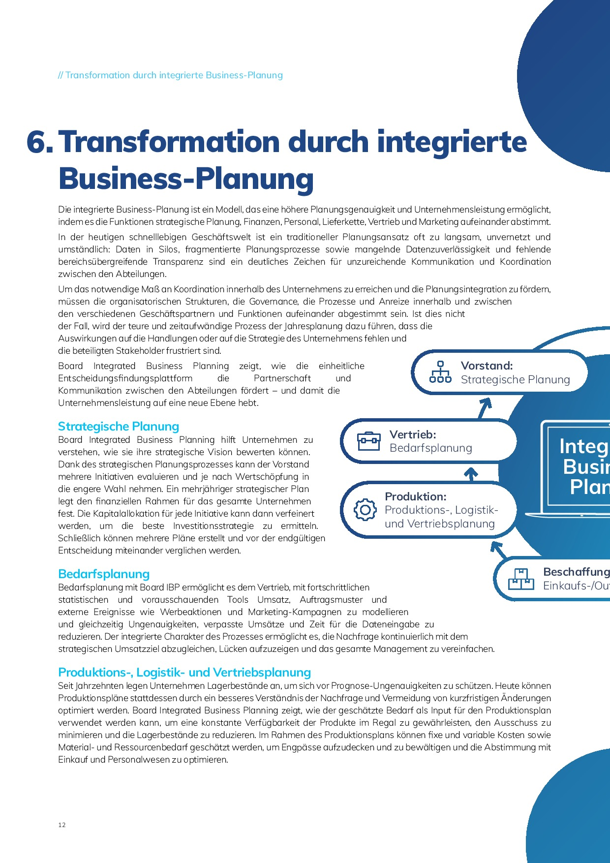 Integrierte Business-Planung | Page 12