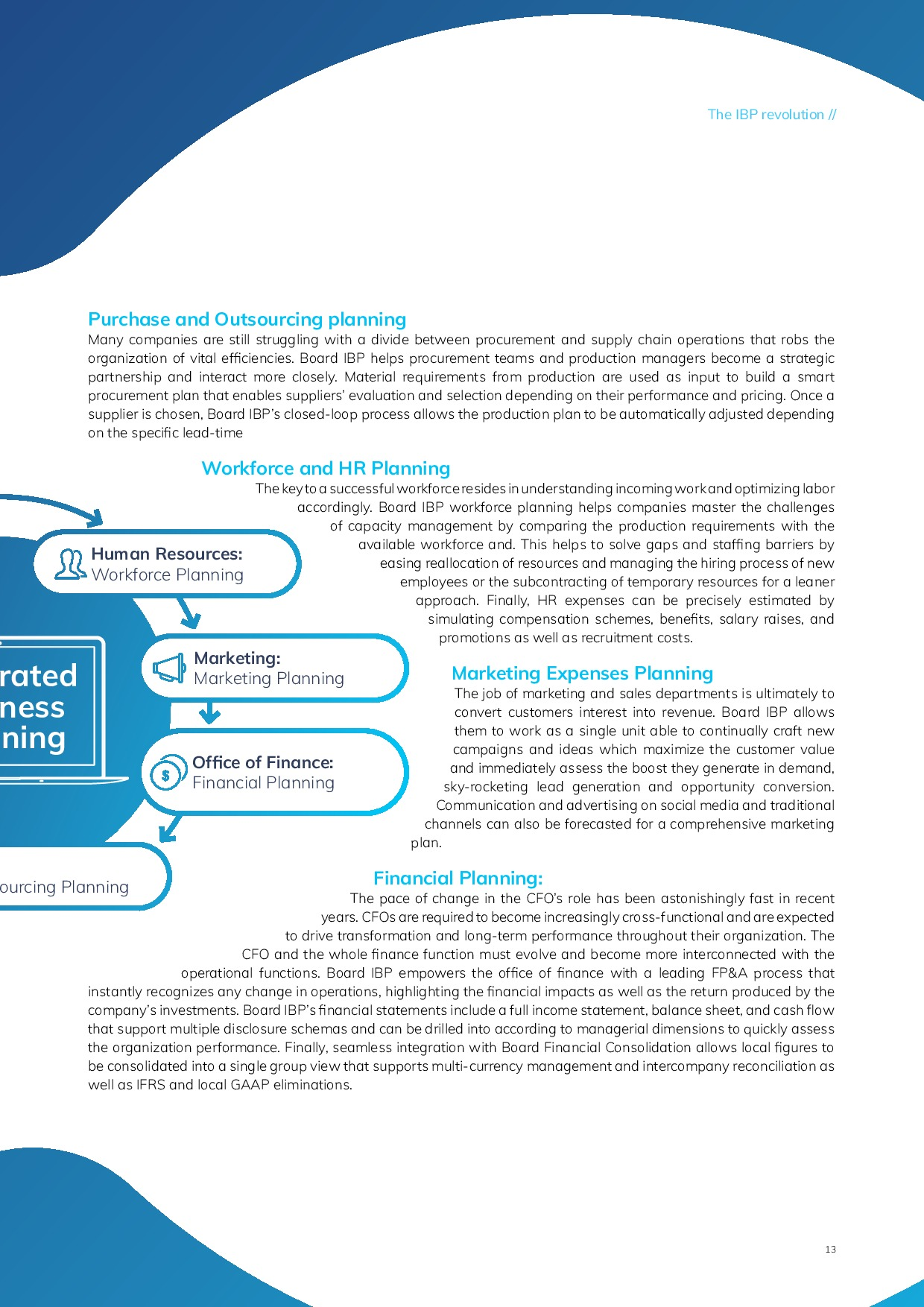 Taking an Integrated Approach to Business Planning | Page 13