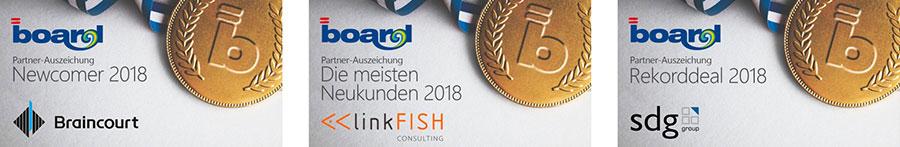 Board kürt erfolgreichste Partner 2018